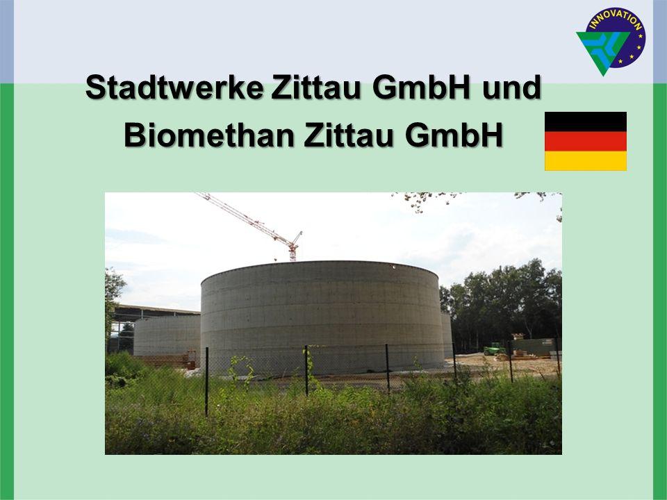 Stadtwerke Zittau GmbH und Biomethan Zittau GmbH