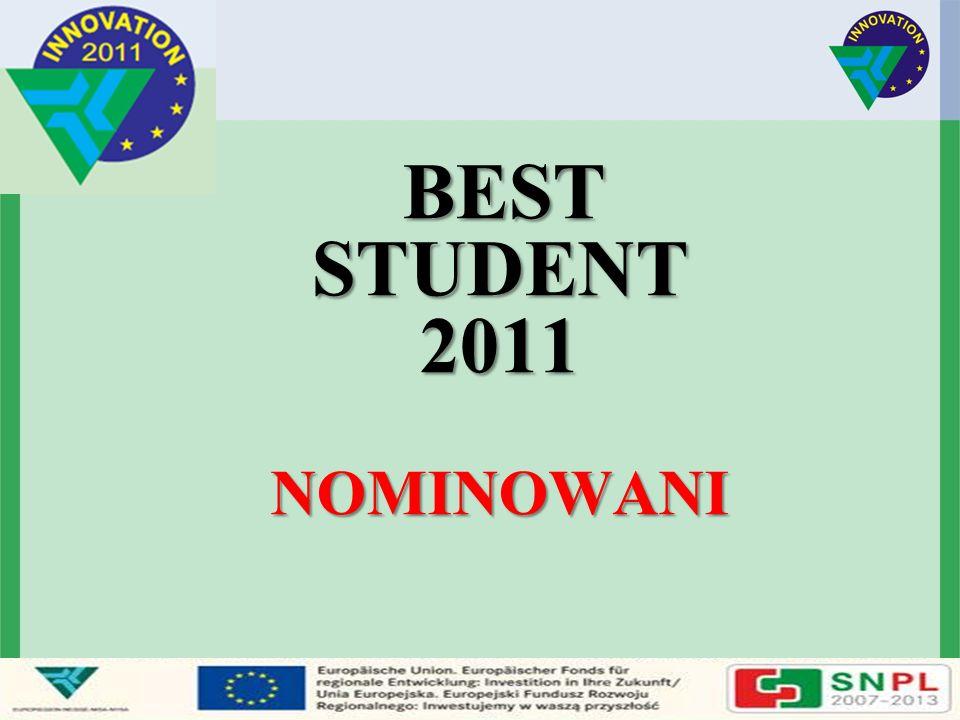 BEST STUDENT 2011 NOMINOWANI BEST STUDENT 2011 NOMINOWANI