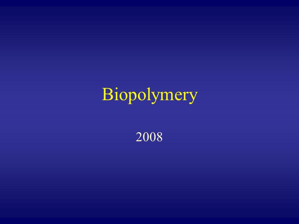 Biopolymery 2008
