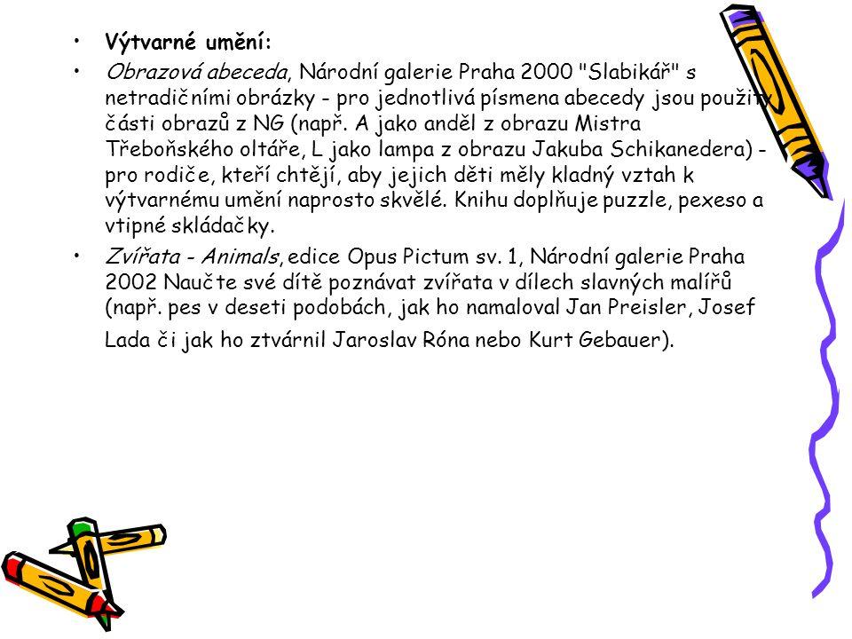 Výtvarné umění: Obrazová abeceda, Národní galerie Praha 2000