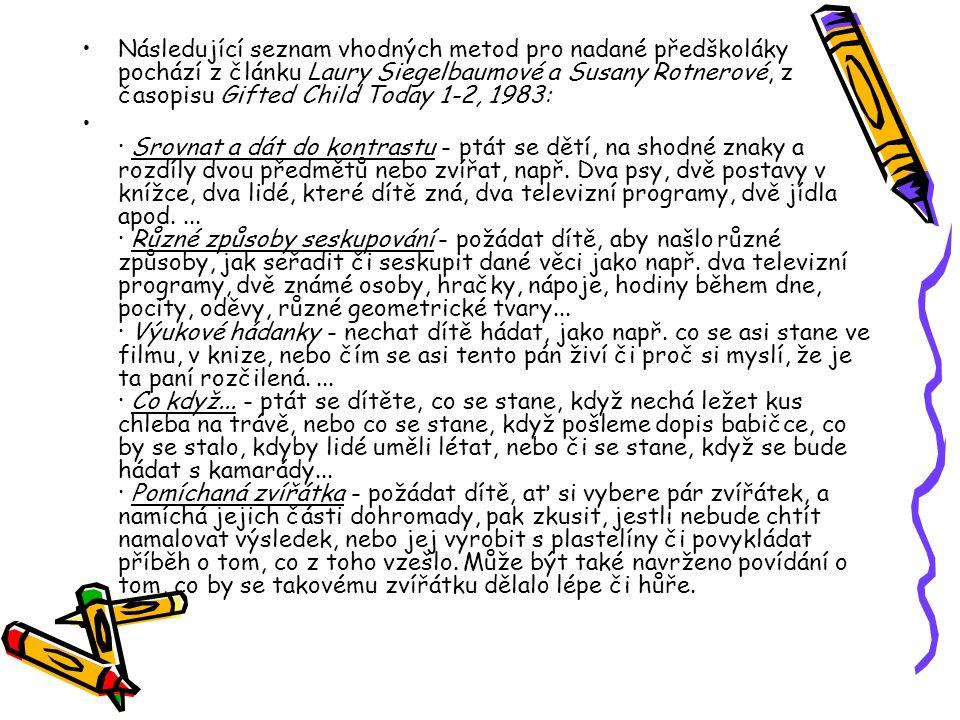 Aktivity CENTRA NADÁNÍ ©Jitka a Václav Fořtíkovi 1.