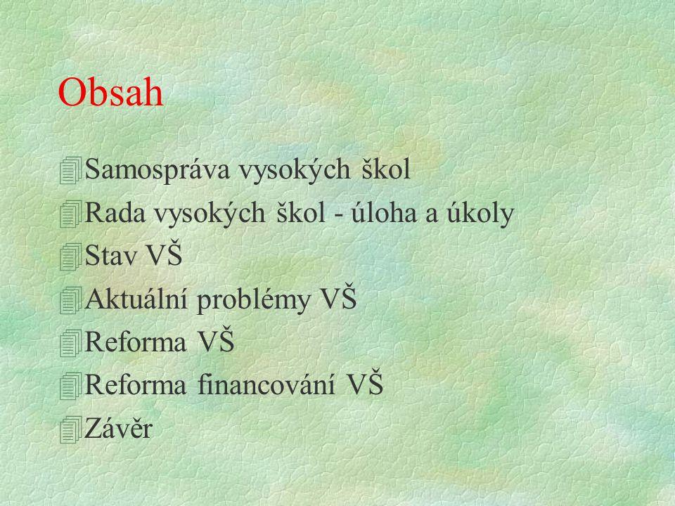 Aktuální problémy VŠ 41.6 Nepříznivé věkové složení akademických pracovníků.