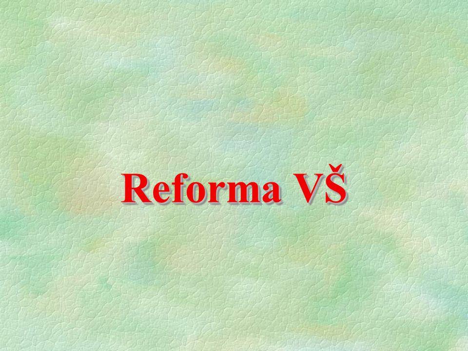 Reforma VŠ