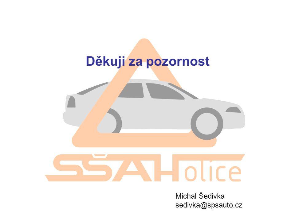 Děkuji za pozornost Michal Šedivka sedivka@spsauto.cz