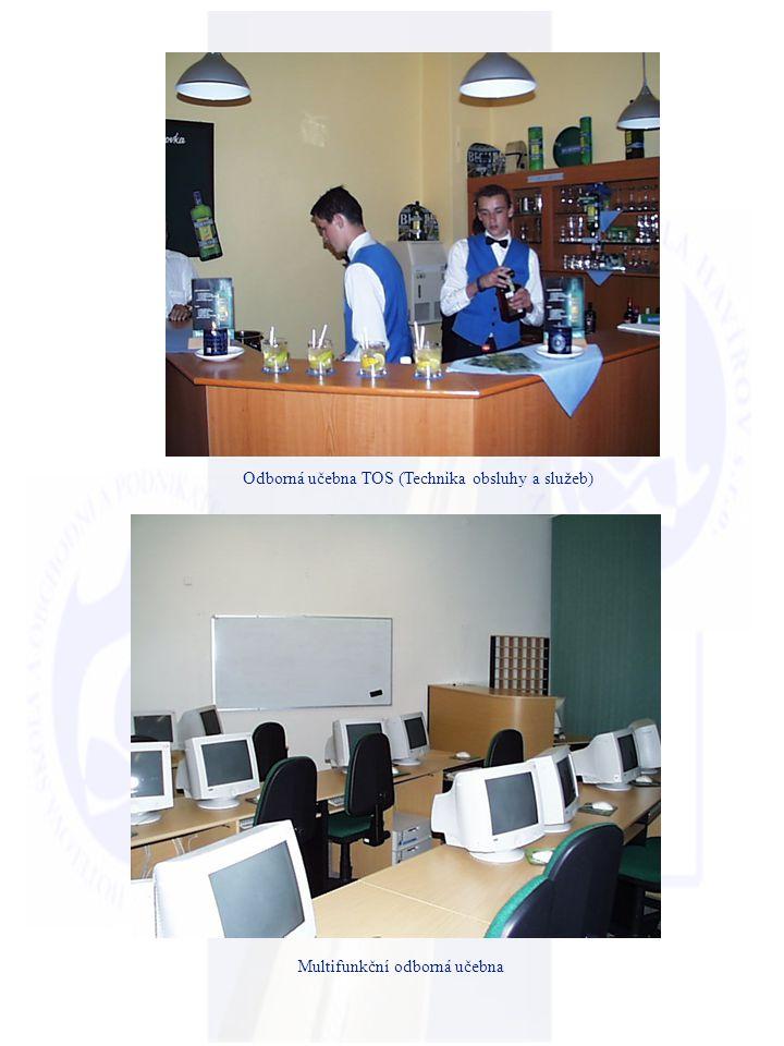 Odborná učebna TOS (Technika obsluhy a služeb) Multifunkční odborná učebna