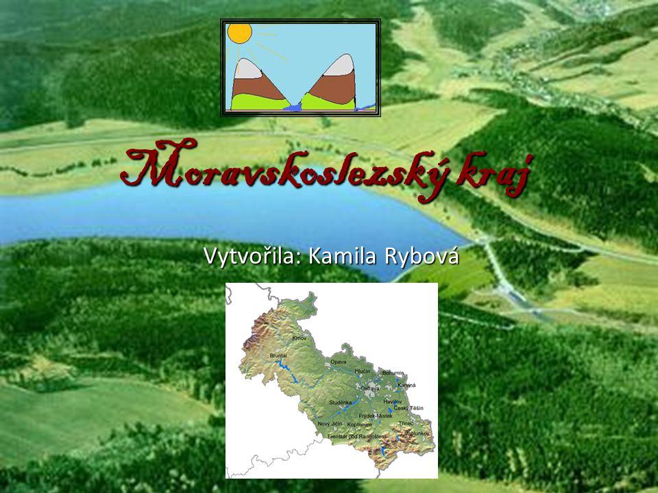 Prírodní krásy kraje Nekrásnější a přírodně nejcennějšími pohořími jsou Hrubý Jeseník a Moravskoslezské Beskydy Mezi nimi se nachází velice pestrý kraj, kde je jednou z nejpěknějších oblastí Poodří s lužními lesy, mokřady a rybníkyMezi nimi se nachází velice pestrý kraj, kde je jednou z nejpěknějších oblastí Poodří s lužními lesy, mokřady a rybníky národní přírodní rezervace Rešovské vodopády, národní přírodní památka jeskyně Šipka ve Štramberku, přírodní park Hradní vrch Hukvaldy nebo Uhlířský vrch, Venušinu sopku a Velký Roudný - pozůstatky sopečné činnostinárodní přírodní rezervace Rešovské vodopády, národní přírodní památka jeskyně Šipka ve Štramberku, přírodní park Hradní vrch Hukvaldy nebo Uhlířský vrch, Venušinu sopku a Velký Roudný - pozůstatky sopečné činnosti ZdrojZdrojZdroj