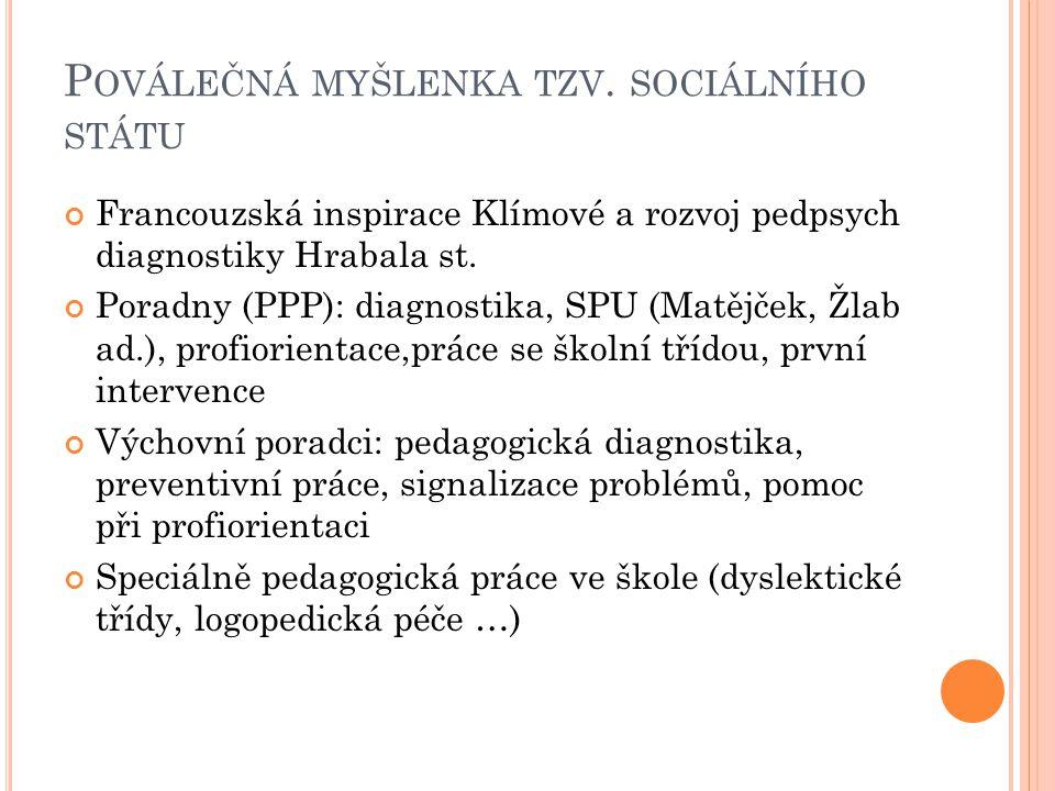 P OVÁLEČNÁ MYŠLENKA TZV.