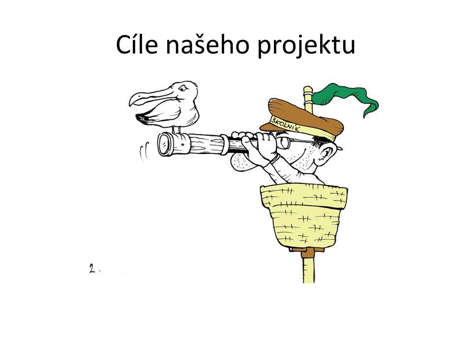 Cíle našeho projektu