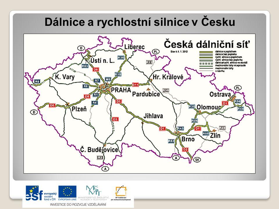 Struktura výkonů dopravy Zdroj: Učebnice Zeměpis naší vlasti, údaje z roku 2004