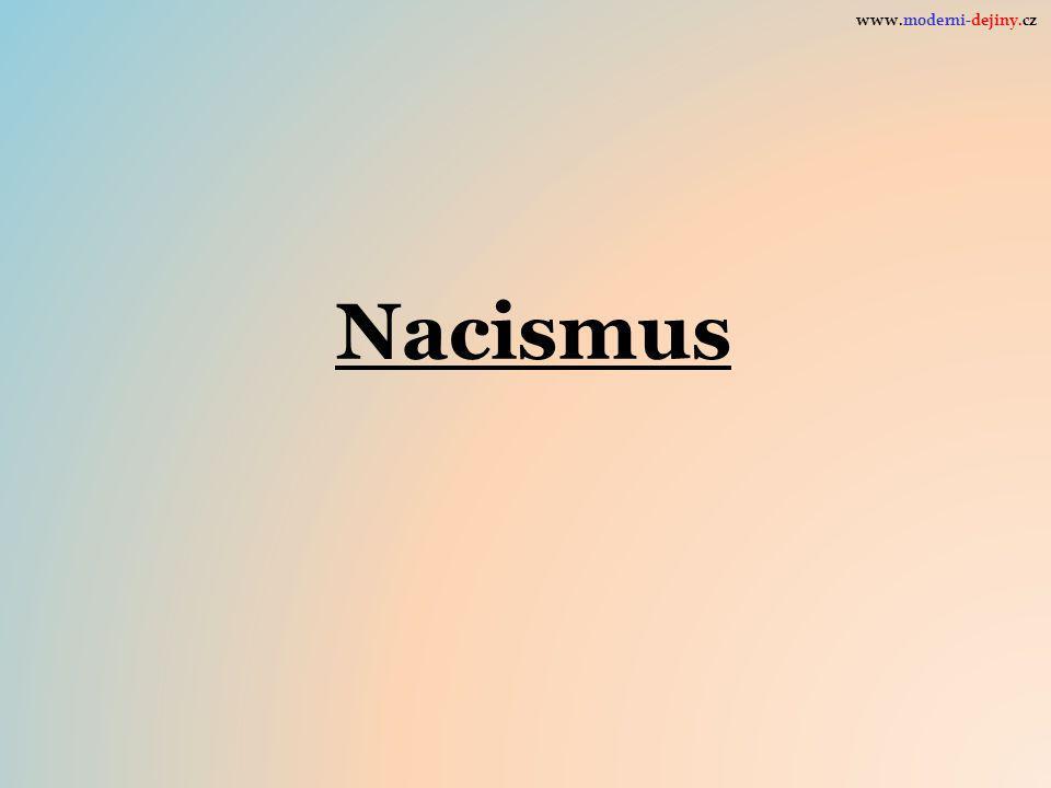Nacismus www.moderni-dejiny.cz