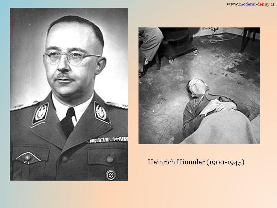 Heinrich Himmler (1900-1945) www.moderni-dejiny.cz