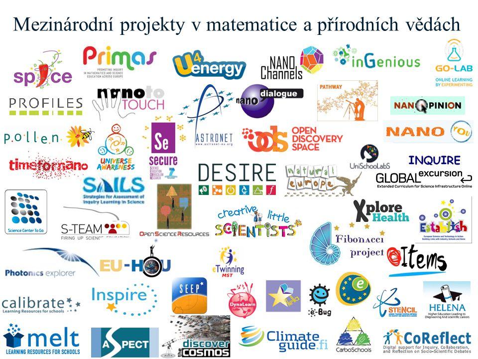 www.europeanschoolnet.org - www.eun.org Mezinárodní projekty v matematice a přírodních vědách