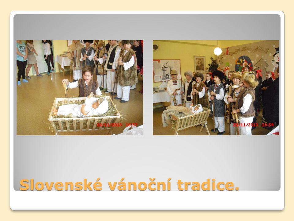 Slovenské vánoční tradice.
