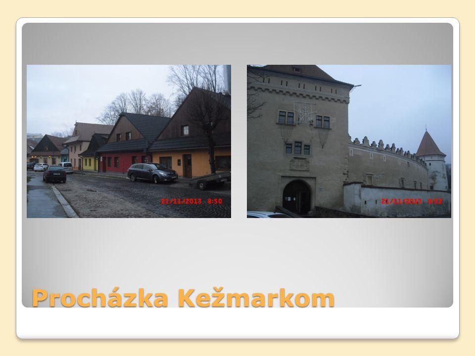 Procházka Kežmarkom