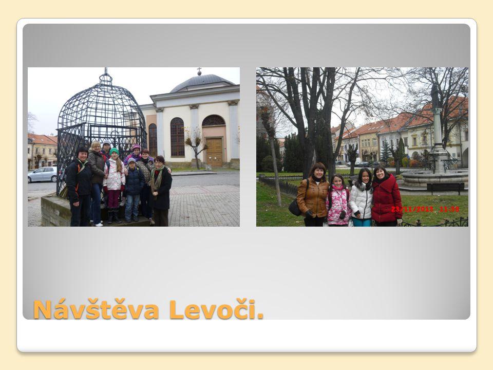 Návštěva Levoči.
