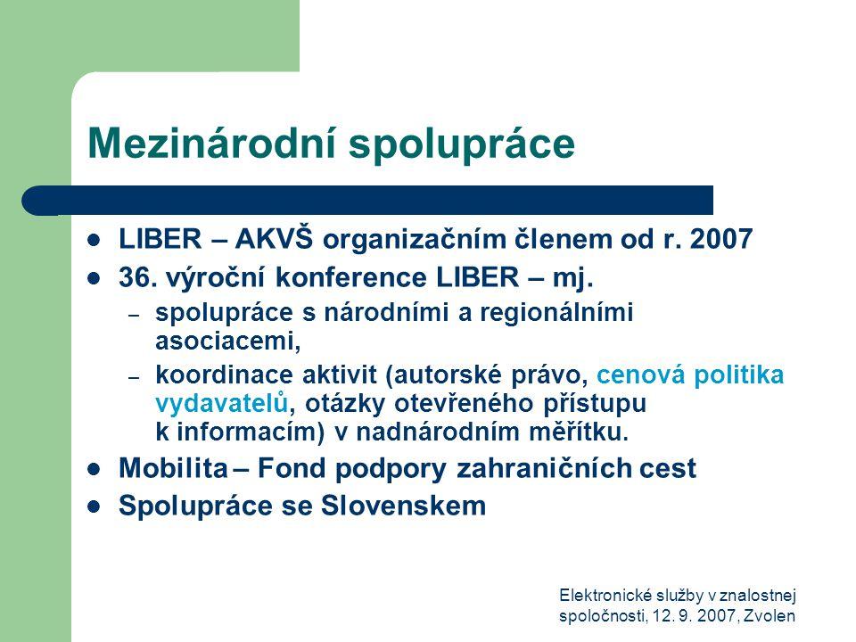 Elektronické služby v znalostnej spoločnosti, 12. 9.