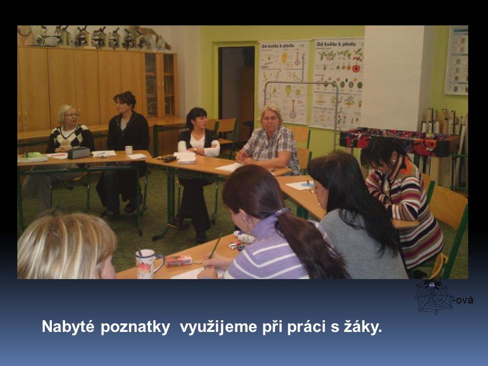 Kurz byl určen pedagogům základních škol a jeho smyslem bylo seznámit vyučující s moderními metodami ve vyučování, které aktivizují žáky při práci ve skupinách i jednotlivě.