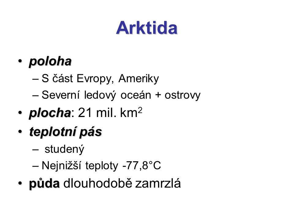 Arktida Polární denPolární den –Slunce nezapadá 6 měsíců Polární nocPolární noc –Slunce nevychází 6 měsíců Poloha slunečního kotouče nad severním pólem v době polárního dne, Špicberky.