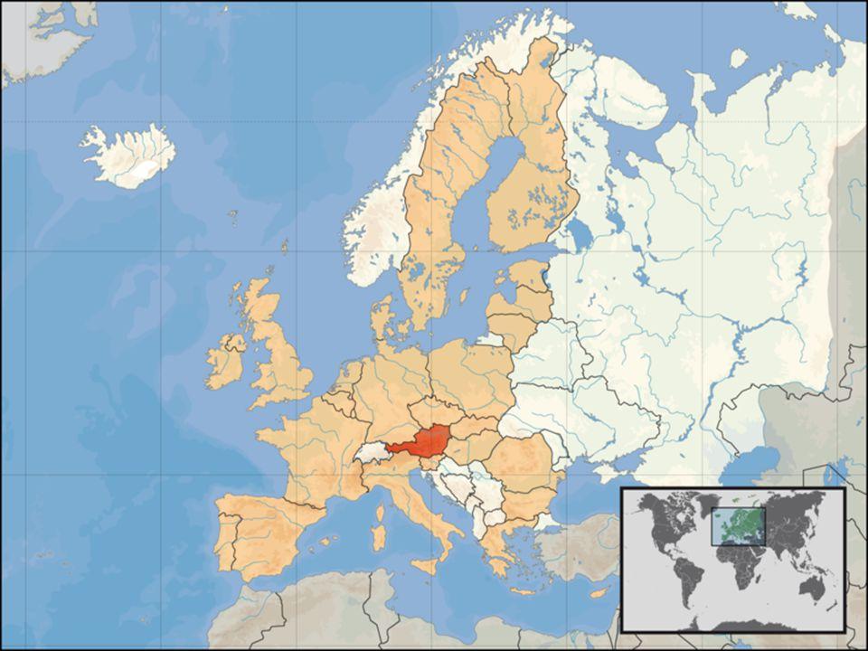 Německo a Rakousko Základní informace: Rozloha: 357,021 km 2 X83,870 km 2 Počet obyvatel:82,400,996 ob.X8,199,783 ob.