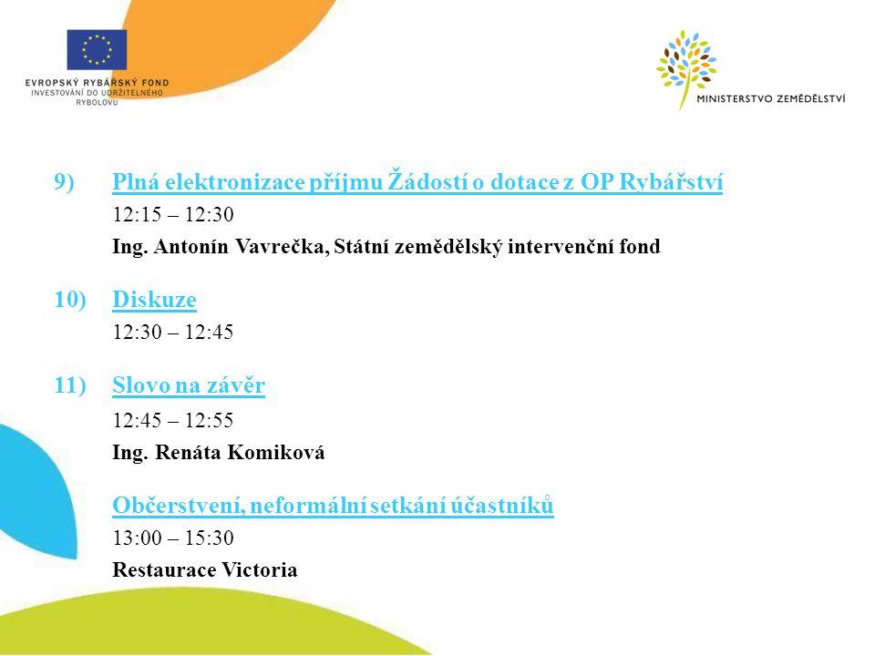 Budoucnost akvakultury a OP Rybářství 2014 - 2020 Ing. Kateřina Krylová