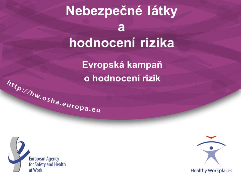 Nebezpečné látky a hodnocení rizika Evropská kampaň o hodnocení rizik