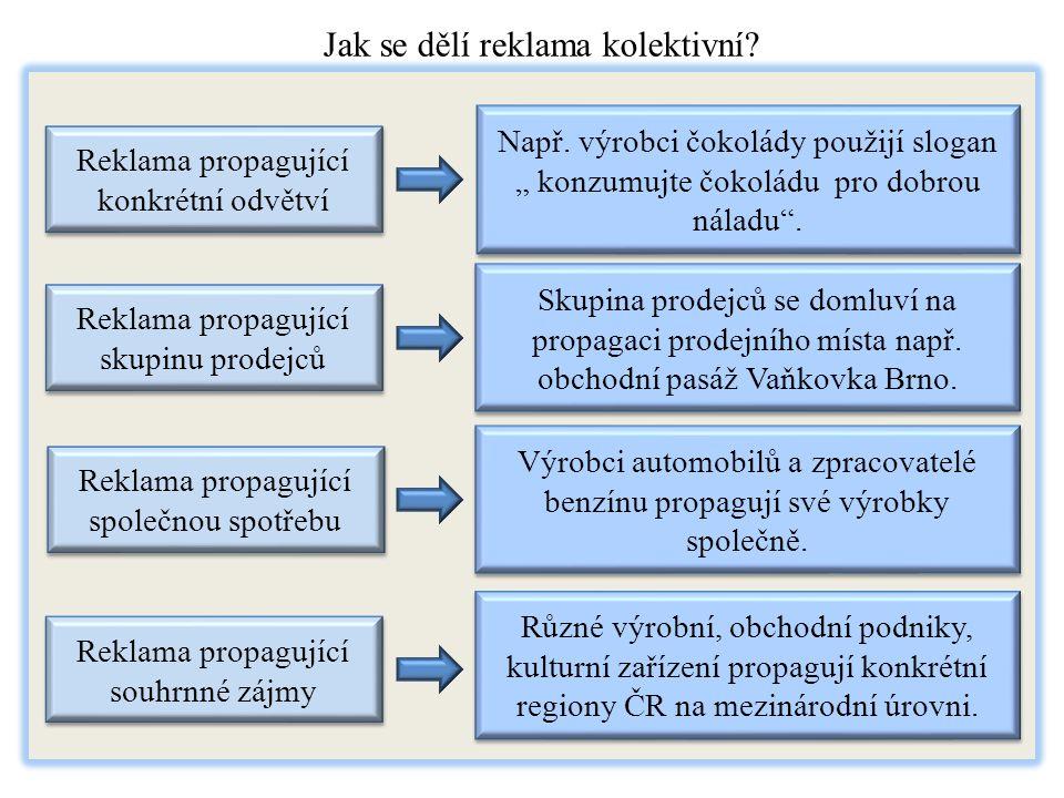 4.Druhy reklamy podle cyklu tržní životnosti Jak dělíme reklamu podle cyklu tržní životnosti.