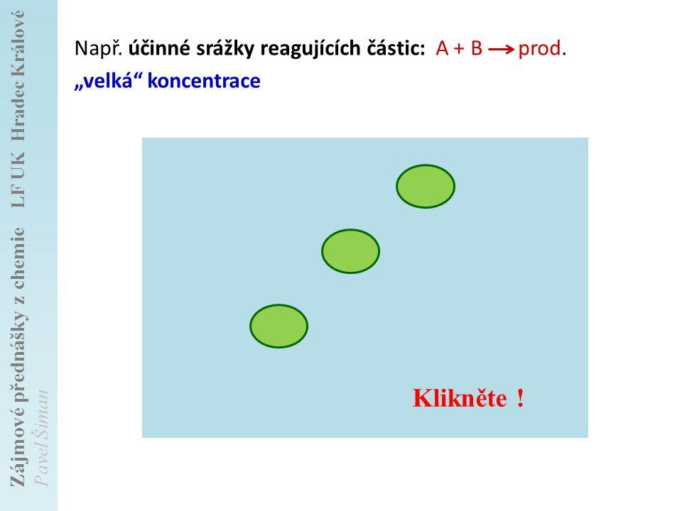 Zájmové přednášky z chemie LF UK Hradec Králové Pavel Šiman + ++ Např.