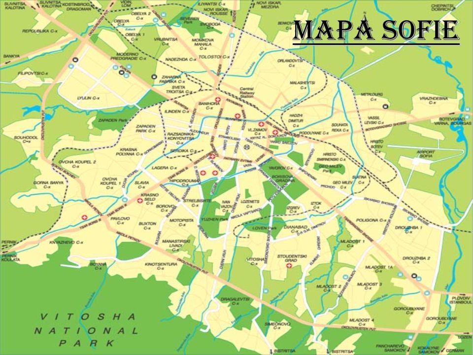 Je hlavní město Bulharska, které je situováno do podhůří Vitošy na západě státu. Město má výhodnou strategickou polohu na křižovatce cest z Bělehradu