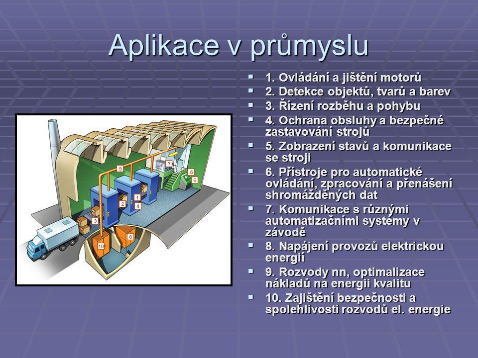Pneumatické řídící prvky  Jsou součástí regulačních a řídících systémů s uplatněním např.