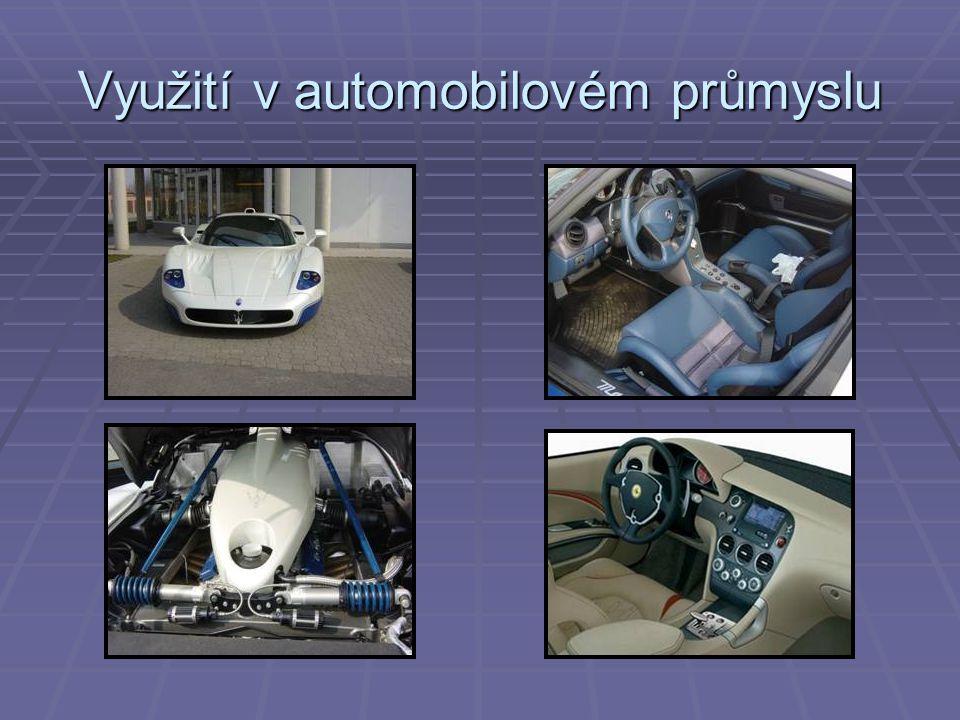Využití v automobilovém průmyslu