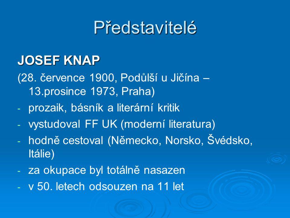Představitelé JOSEF KNAP (28.
