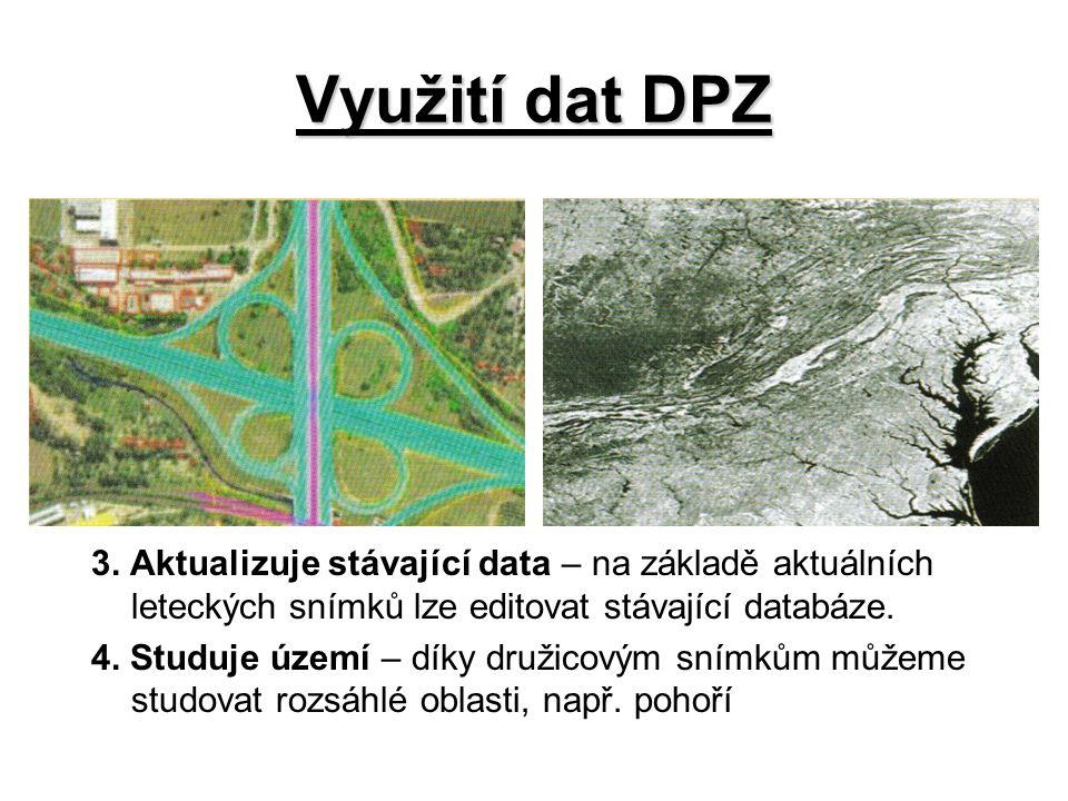 Využití dat DPZ 3.