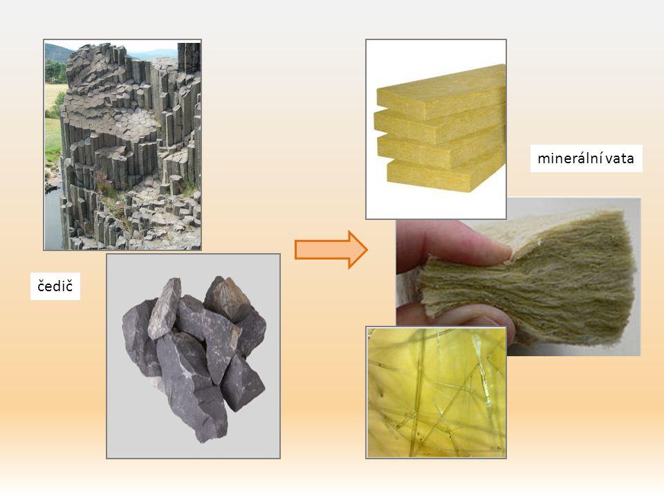 čedič minerální vata