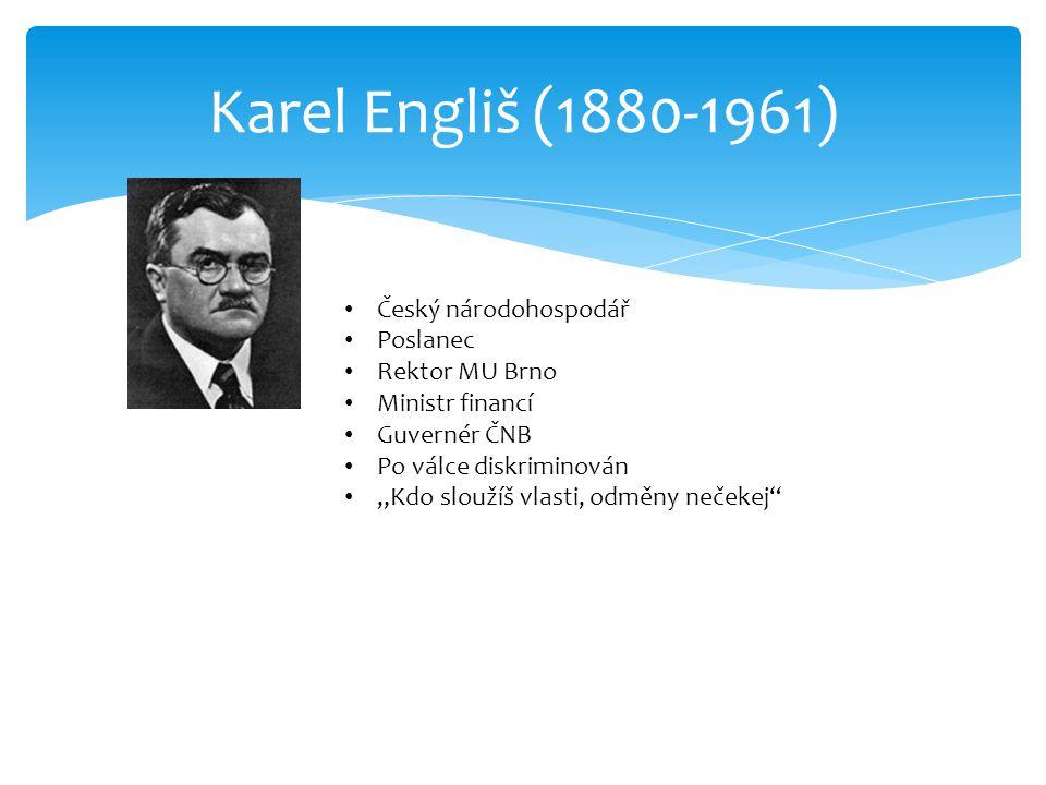 Engliš, K. Malá finanční věda. Praha, 1930