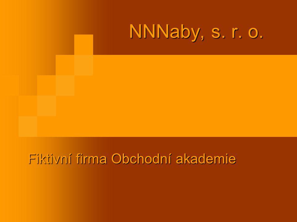 NNNaby, s. r. o. Fiktivní firma Obchodní akademie