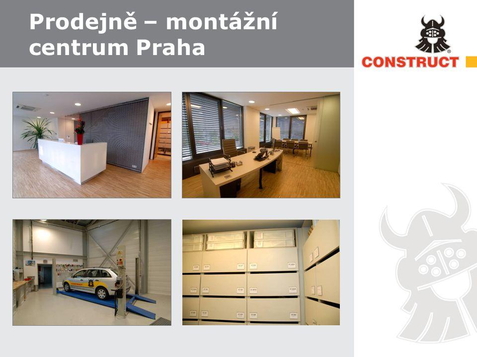 Prodejně – montážní centrum Praha