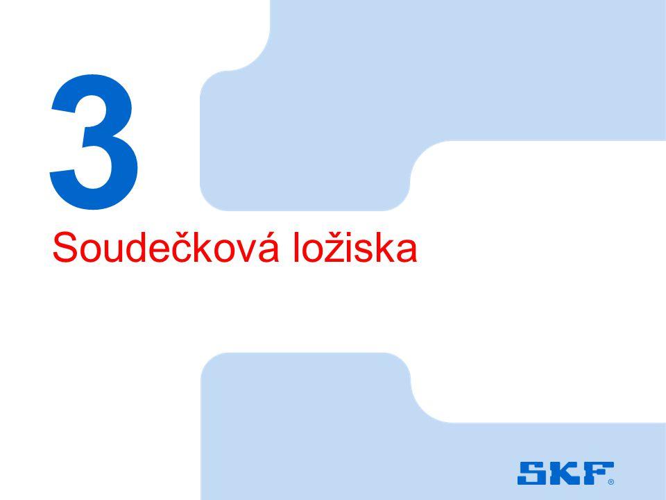 October 30, 2007 © SKF Group Slide 38 3 Soudečková ložiska