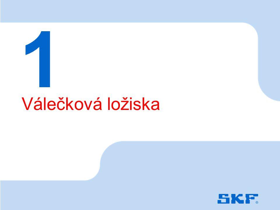 October 30, 2007 © SKF Group Slide 3 Válečková ložiska 1