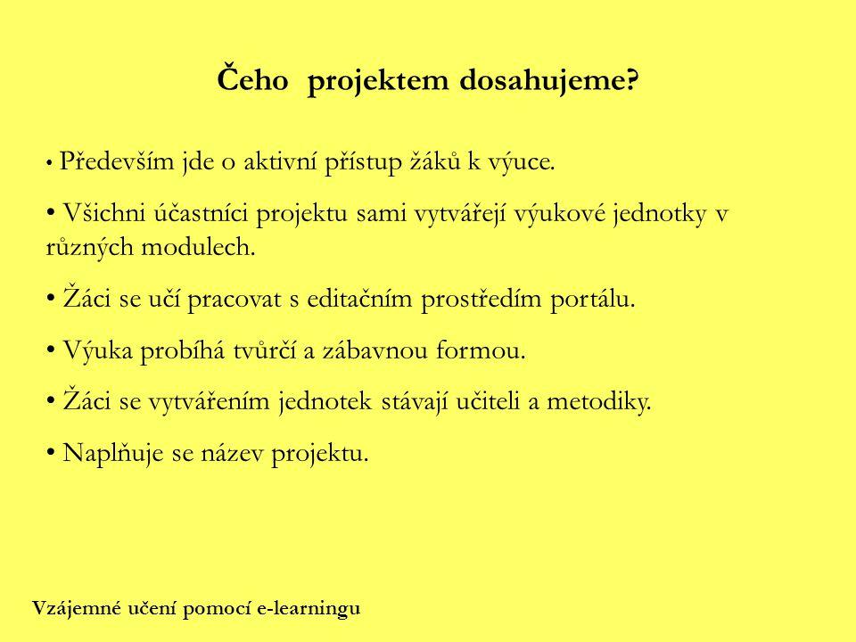 Klíčové kompetence Pokud bychom si měli odpovědět na otázku, které klíčové kompetence se tvorbou výukových jednotek rozvíjejí, dospěli bychom k následujícímu výčtu: Komunikativnost, týmová práce, schopnost učit se, schopnost řešit problémy, informační a počítačová gramotnost.