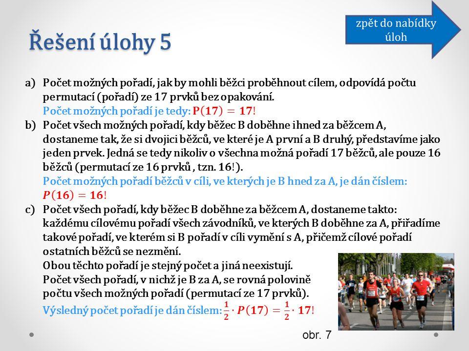 Řešení úlohy 5 obr. 7