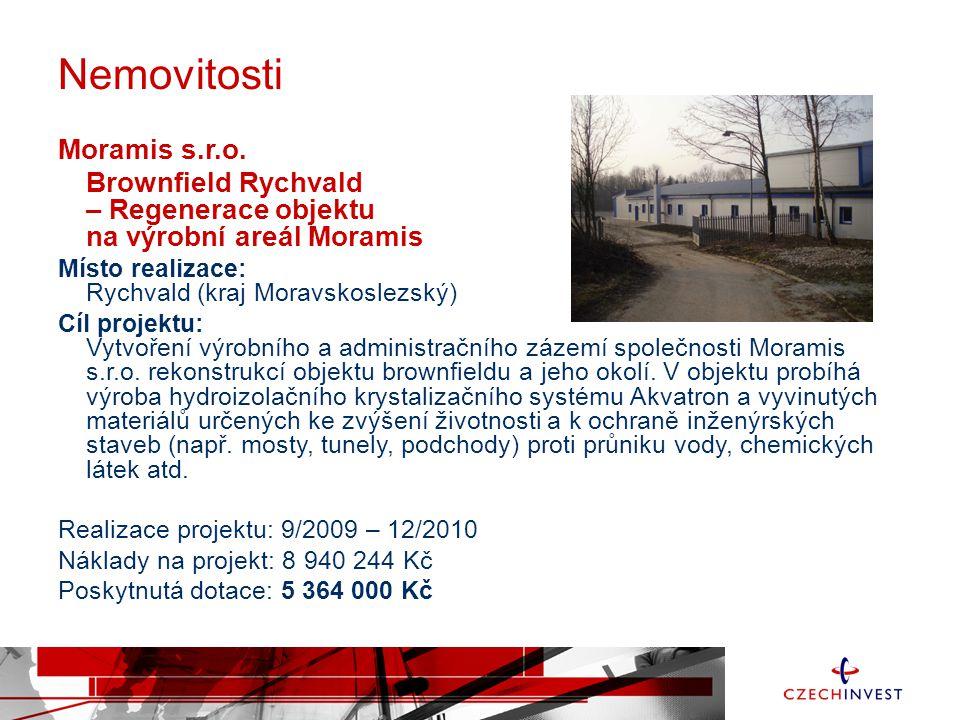 Nemovitosti Moramis s.r.o.