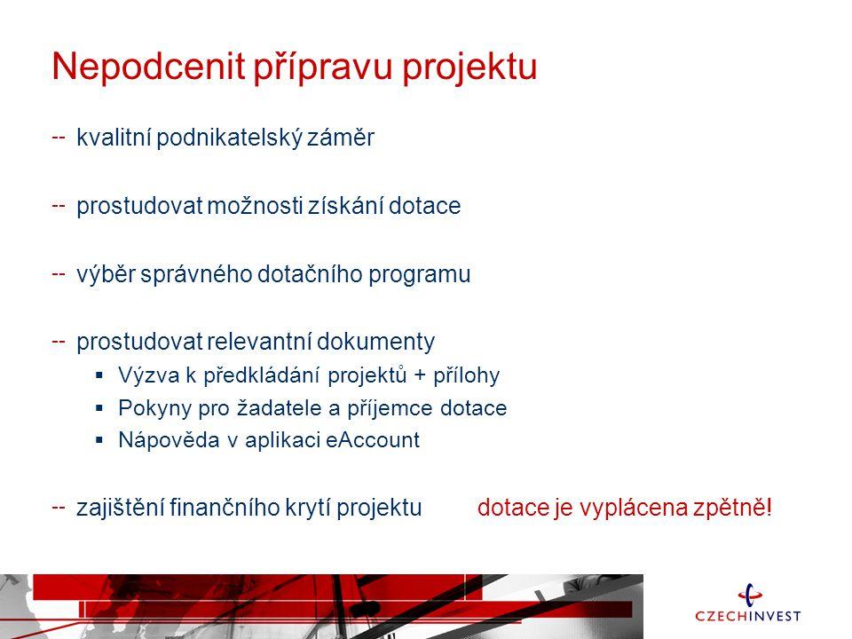 Agentura pro podporu podnikání a investic Státní příspěvková organizace založena v roce 1992 Štěpánská 15 120 00 Praha tel.