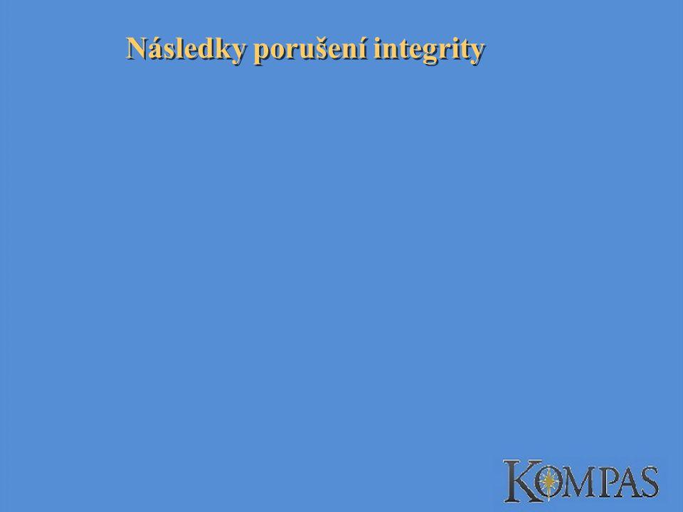 Následky porušení integrity