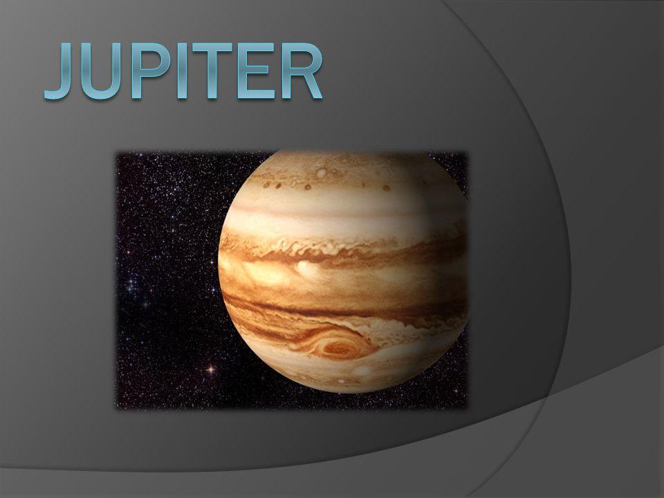 Jupiter je největší a nehmotnější planetou ve sluneční soustavě.