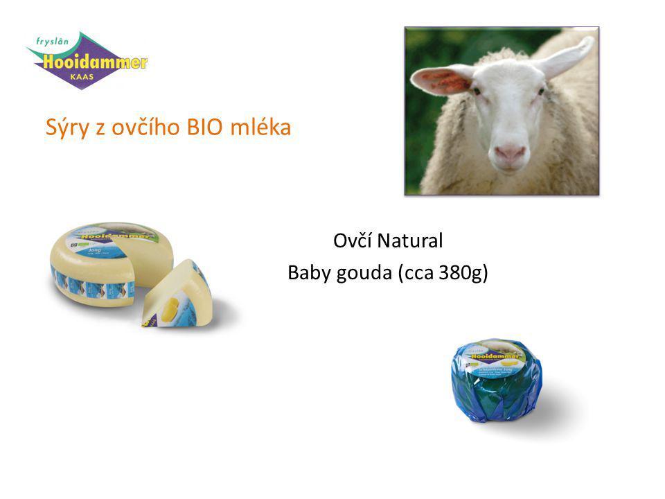 Sýry z ovčího BIO mléka Ovčí Natural Baby gouda (cca 380g)