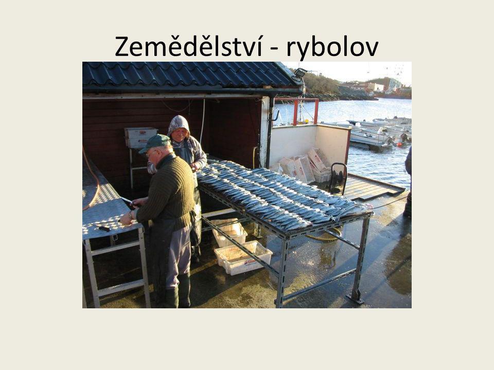Zemědělství - rybolov