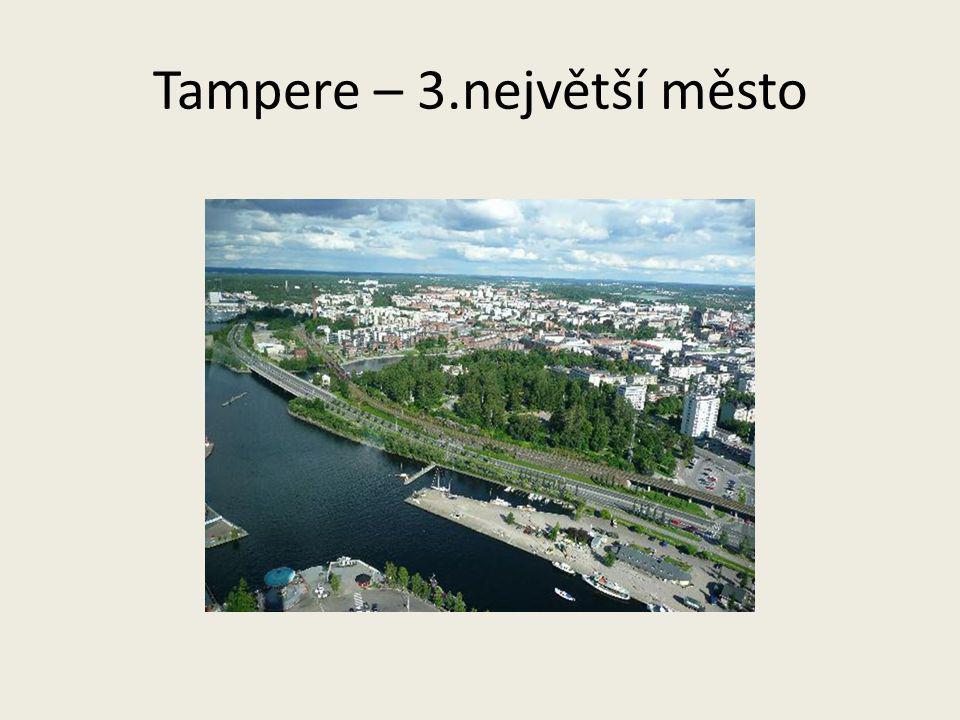 Tampere – 3.největší město