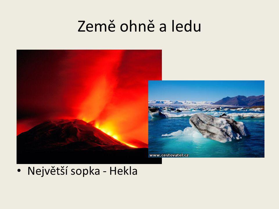 Země ohně a ledu Největší sopka - Hekla