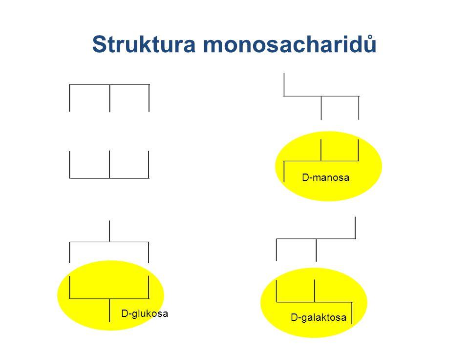 D-glukosa D-manosa D-galaktosa