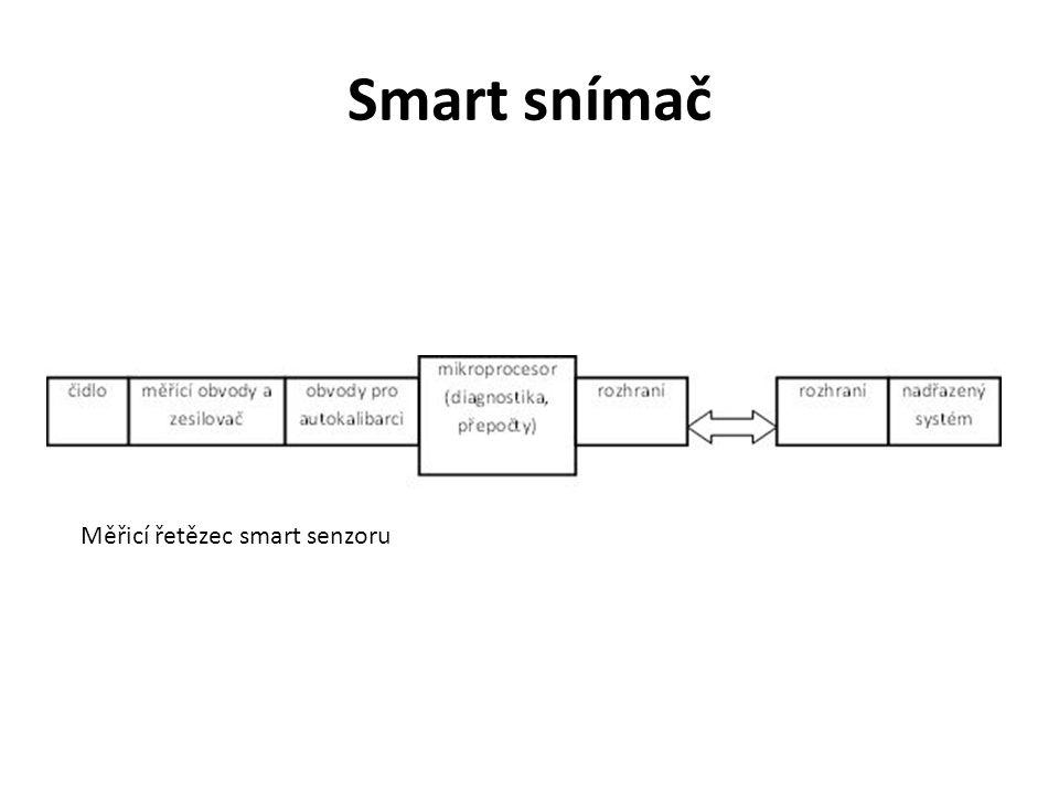 Smart snímač Měřicí řetězec smart senzoru
